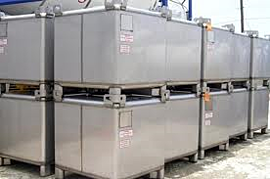 Stainless Steel Tote Tanks Provide Safety Features