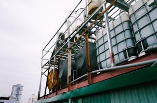 Industrial chemical IBC & drum storage