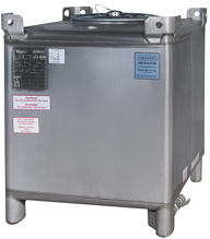 Reconditioned 350 gal ss IBC