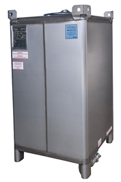 Reconditioned 550 gal ss IBC