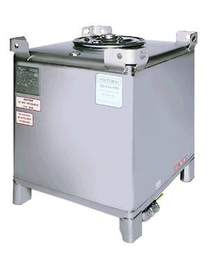 350 gallon stainless steel ibc